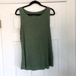 American Eagle Soft & Sexy Tank Green Large